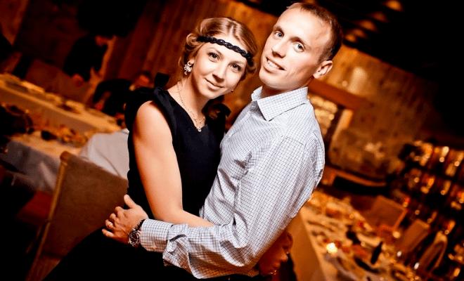 Денис Глушаков и его супруга Дарья