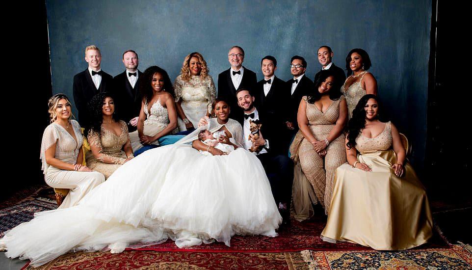 Серна Уильямс. Фото со свадьбы
