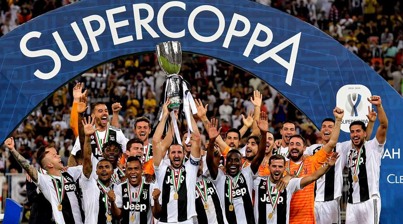 Криштиану Роналду выиграл первый итальянский трофей
