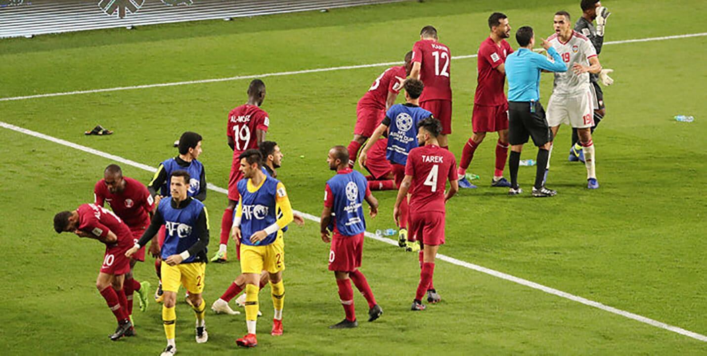 Полуфинал Кубка Азии 2019