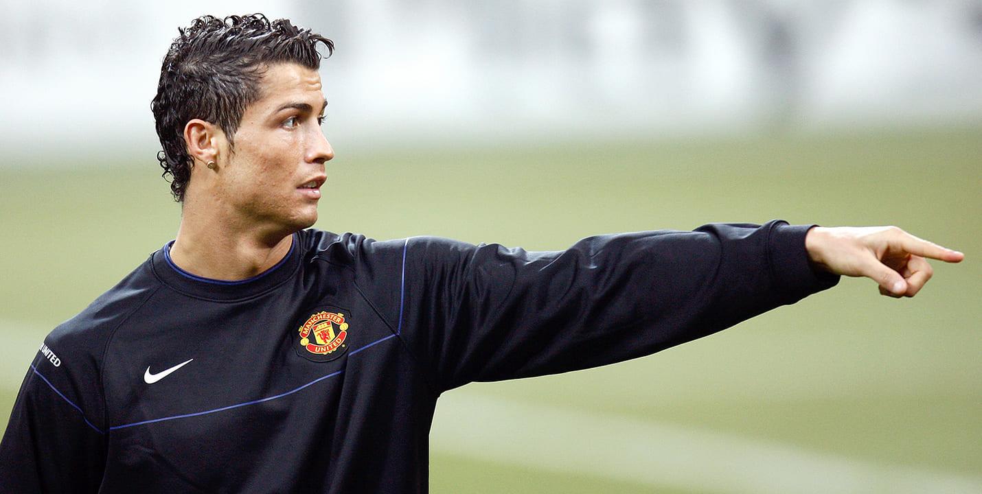 Криштиану Роналду в Манчестер Юнайтед