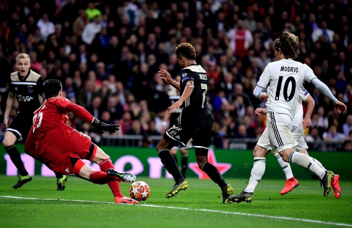 Реал Мадрид-Аякс