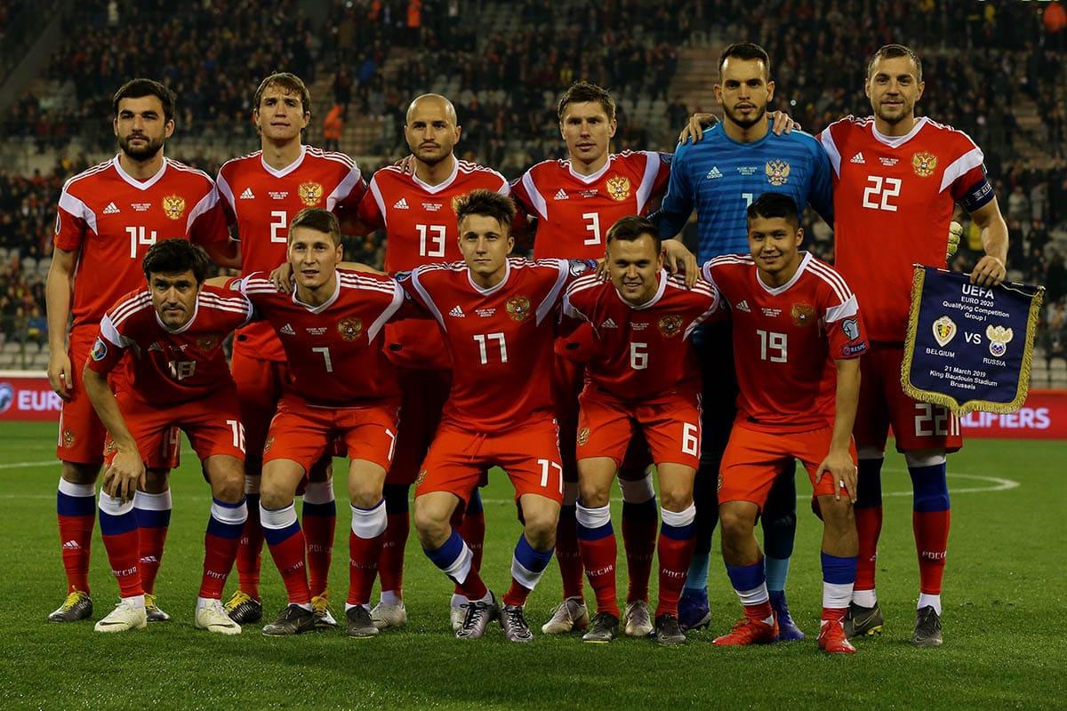 Сборная России по футболу 2019