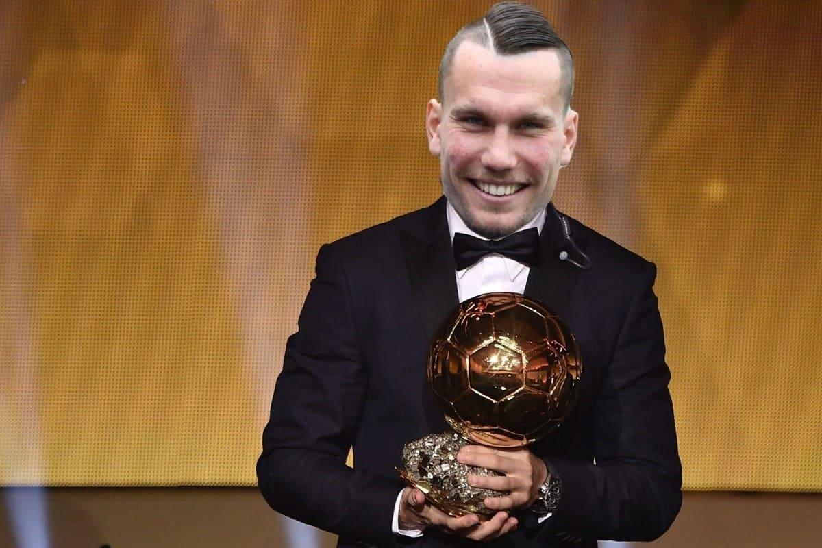 Антон Заболотный с Золотым мячом