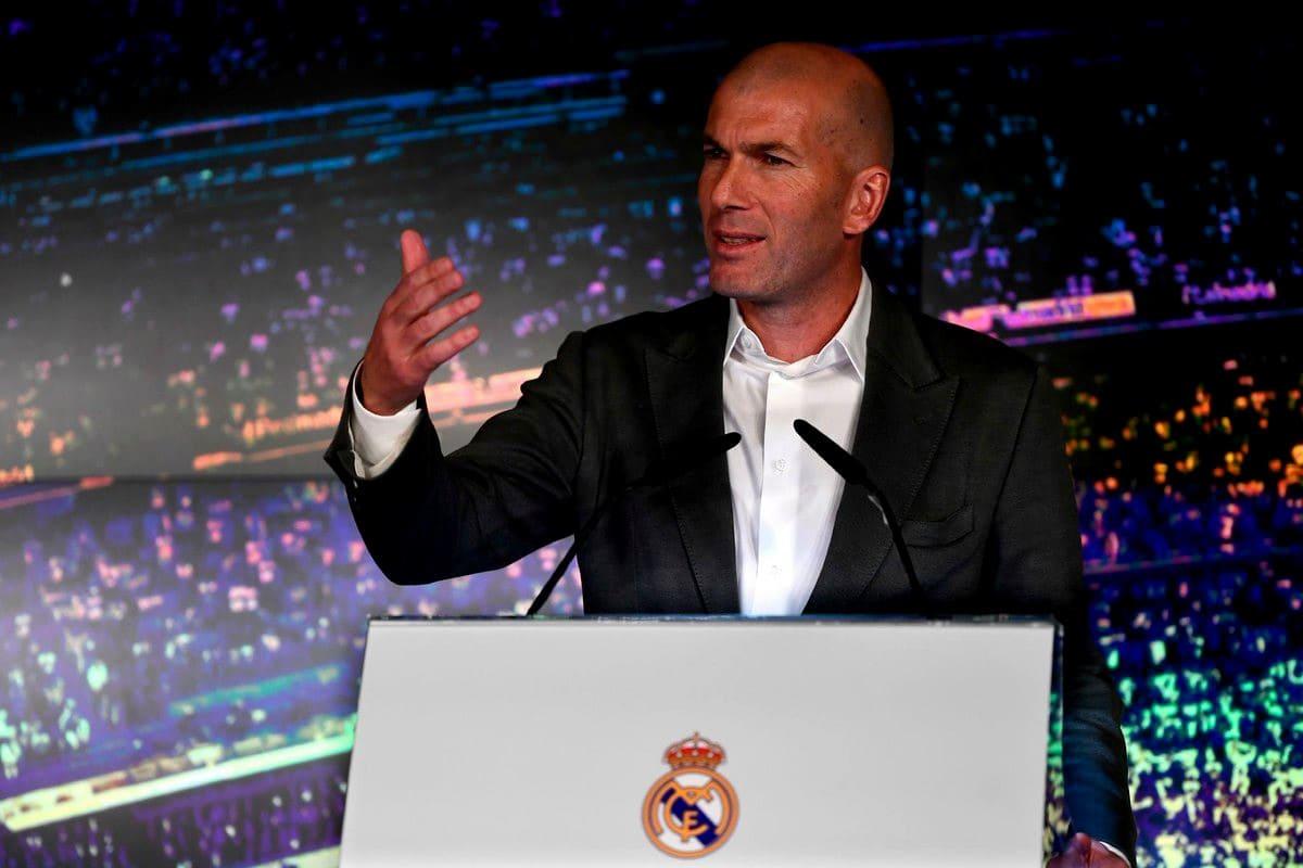 Зинедин Зидан -новый тренер Реала