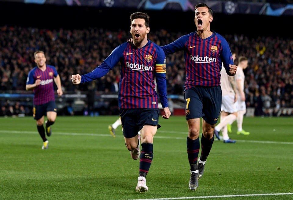 Барселона-Манчестер Юнайтед