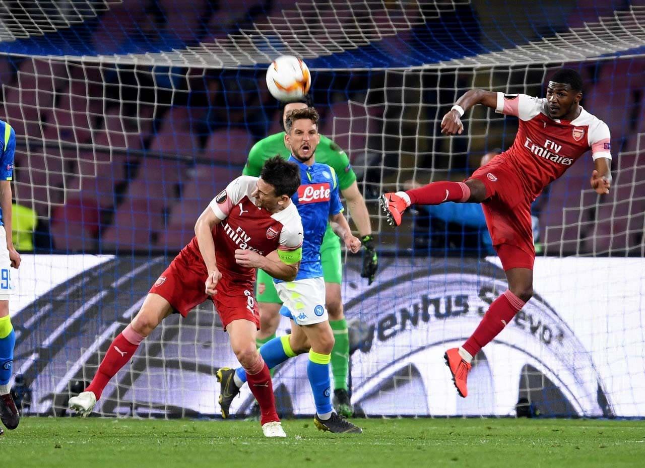 Наполи-Арсенал 0-1