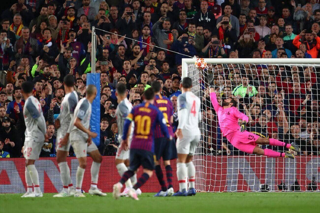 Обзор матча Барселона-Ливерпуль