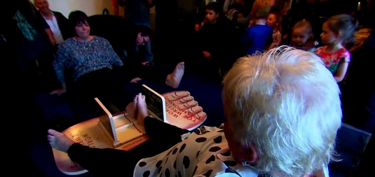 Рестлинг на пальцах ног
