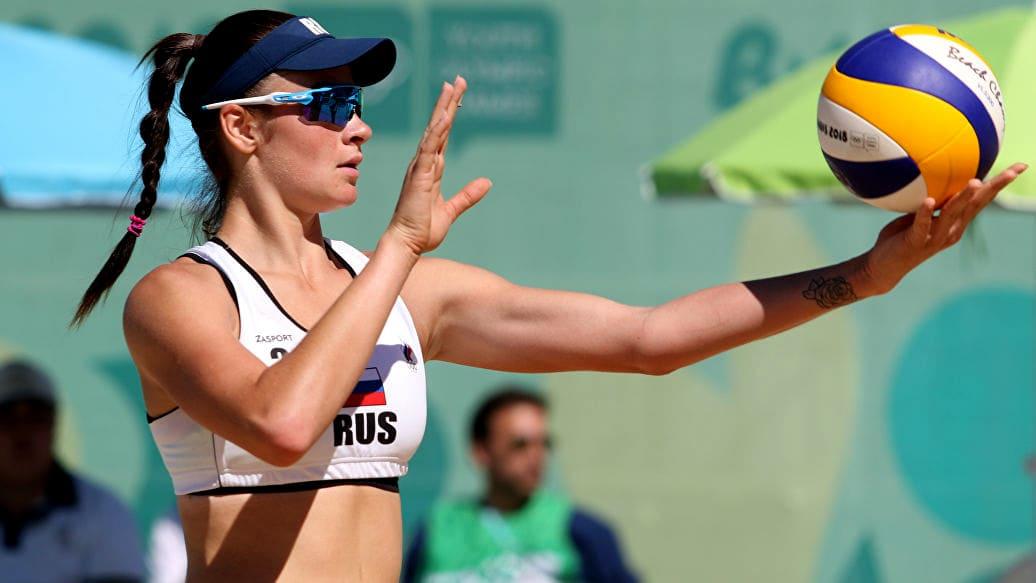 Сборная России по пляжному волейболу
