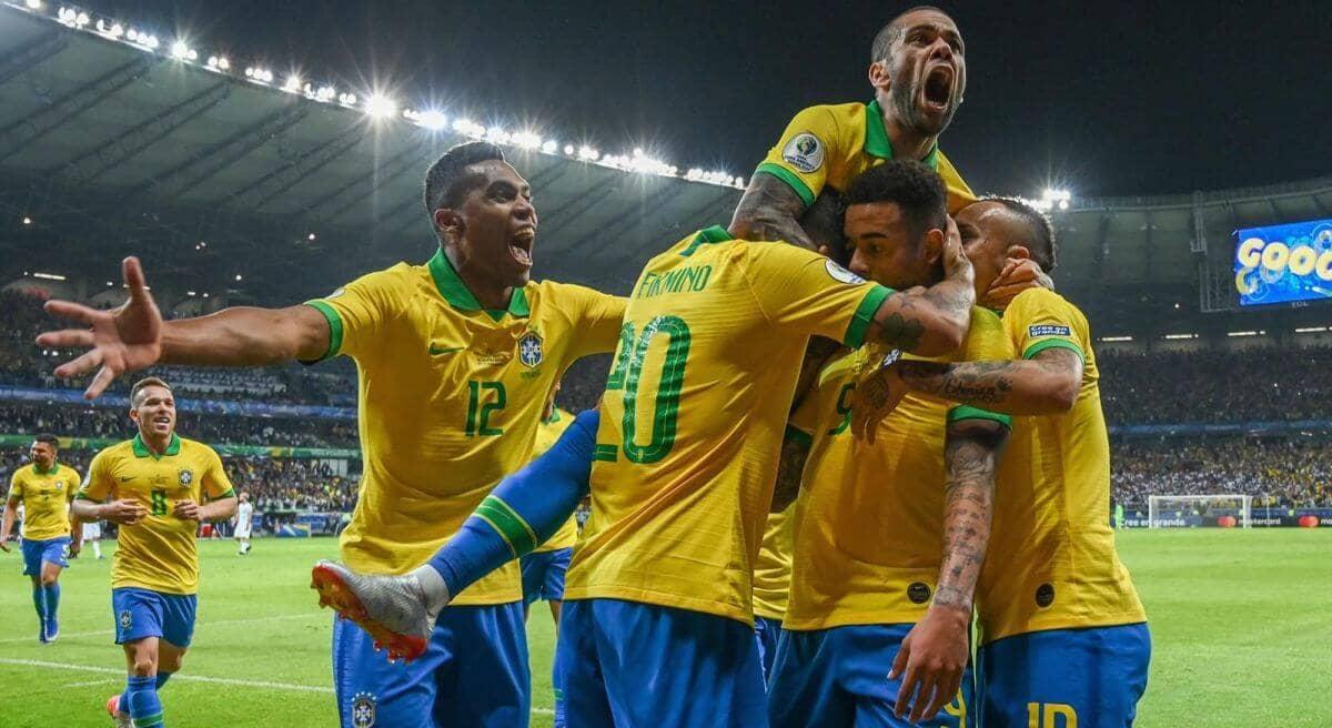 Бразилия - Аргентина обзор 3 июля