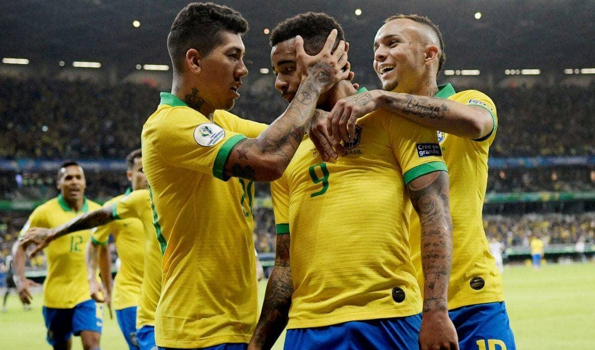 Бразилия - Аргентина обзор 3 июля Жезус