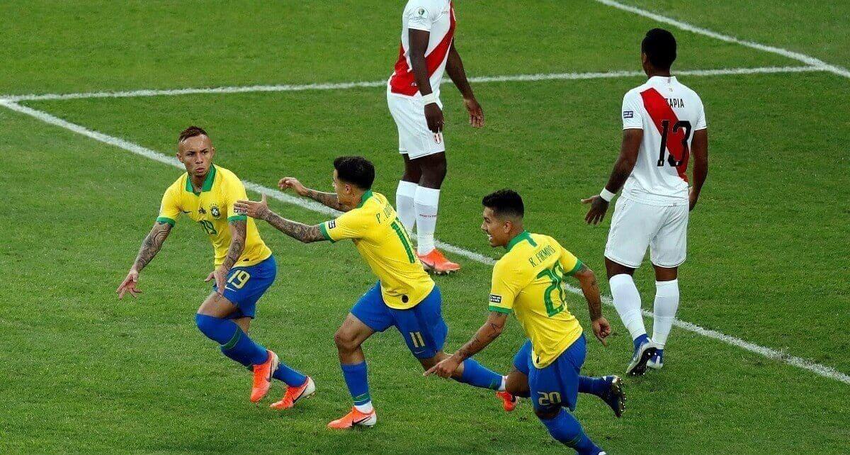 Бразилия - Перу обзор 7 июля