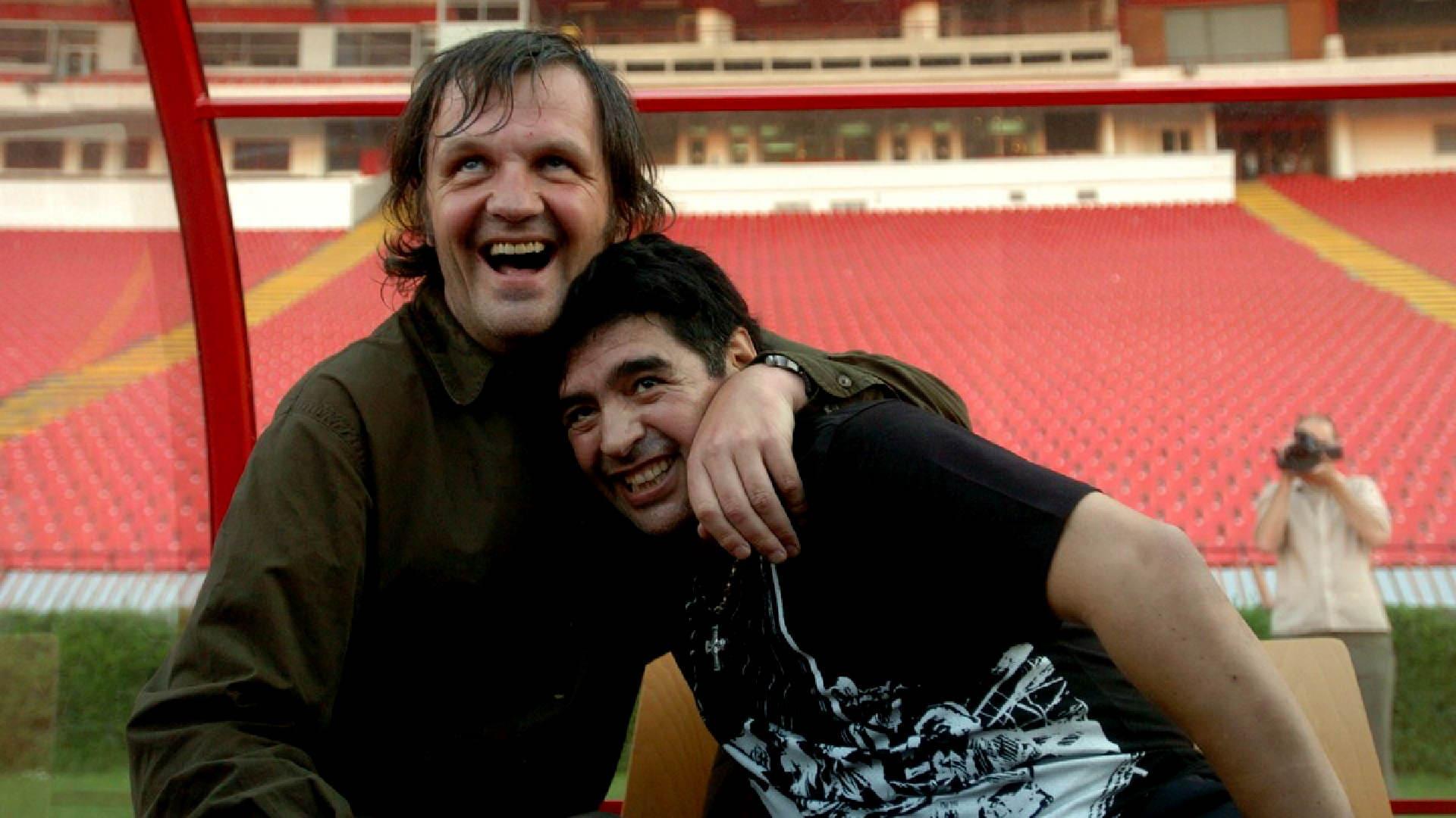 Диего Марадона и Эмир Кустурица