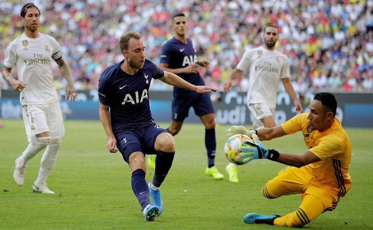 Реал Мадрид Тоттенхэм обзор 30 июля