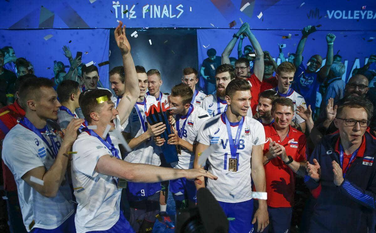 Финал волейбольной Лиги наций 2019 обзор Россия - США