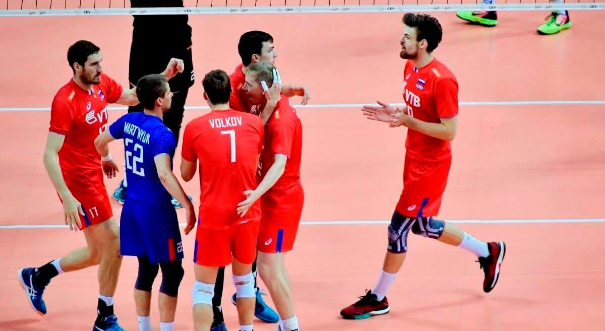Чемпионат Европы по волейболу 2019 мужчины
