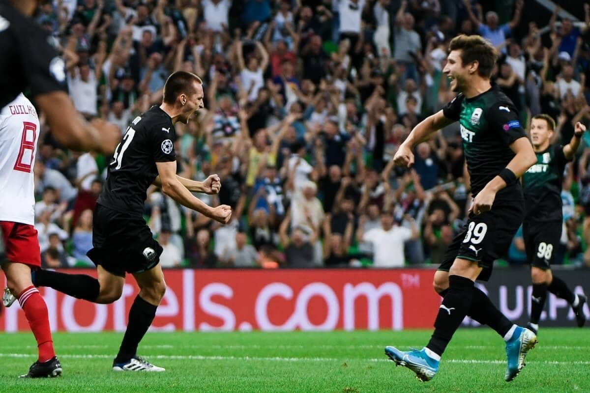 Обзор матча Краснодар – Олимпиакос 27 августа