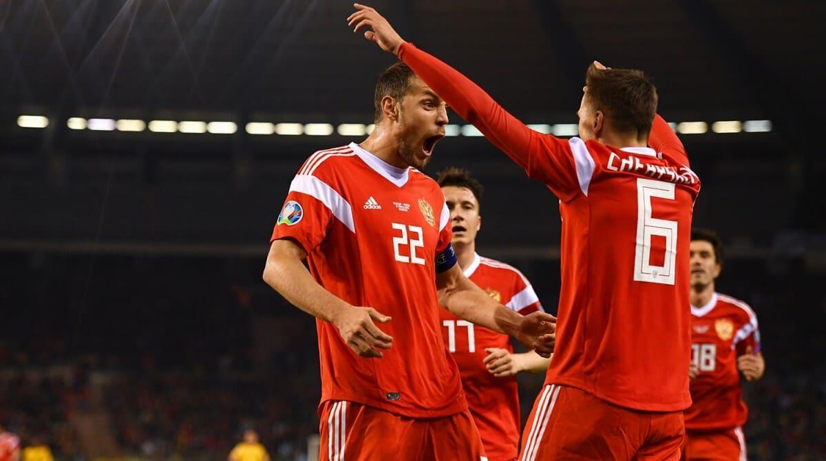 Состав сборной России по футболу на отбор Евро 2020