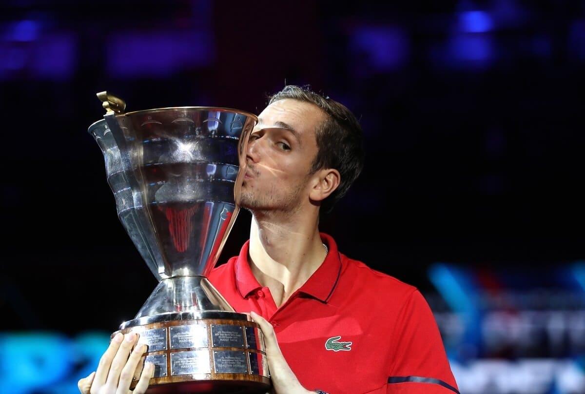Даниил Медведев St.Petersburg Open 2019