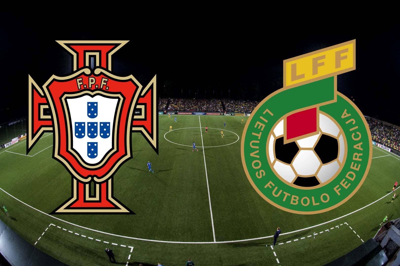 Прогноз Литва - Португалия