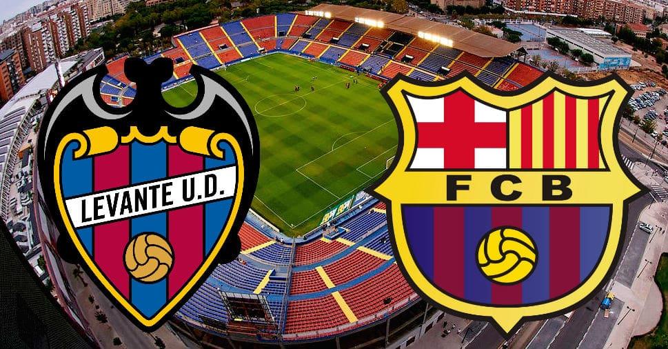 Леванте – Барселона: прогноз матча 02 ноября 2019
