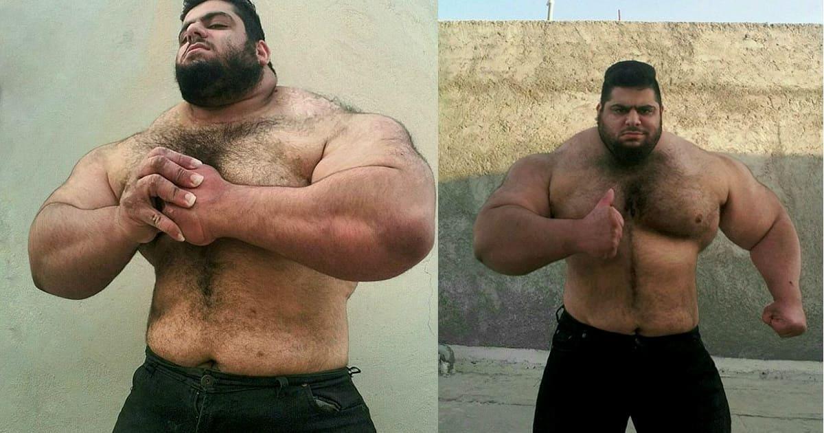 Иранский Халк Саджад