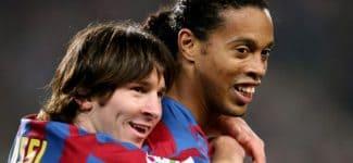 Роналдиньо не считает Месси лучшим футболистом в истории