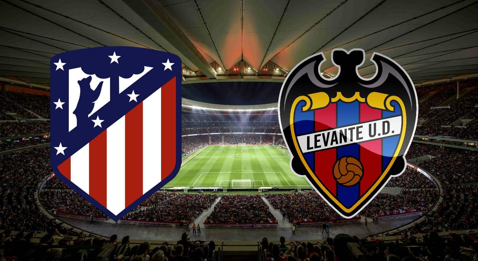Атлетико мадрид леванте онлайн