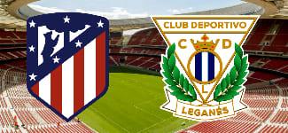Прогноз Атлетико Мадрид – Леганес 26 января