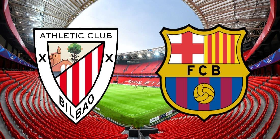 Атлетик - Барселона прогноз 6 февраля copa del rey