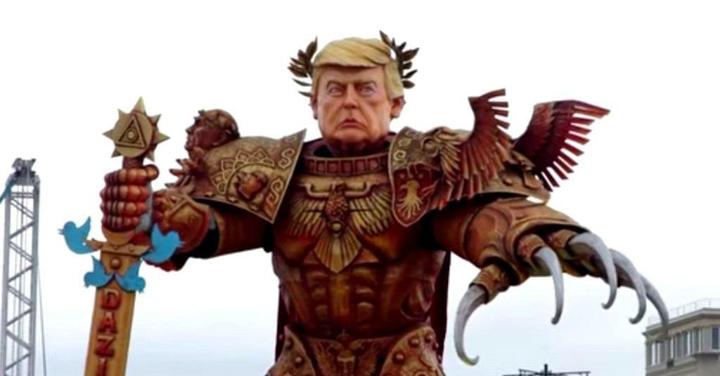 Трамп кукла Виареджо