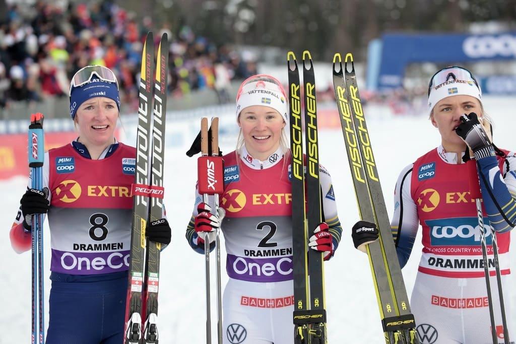 Кубок мира по лыжам Драммен-Коннеруд (Йонна Сундлинг)