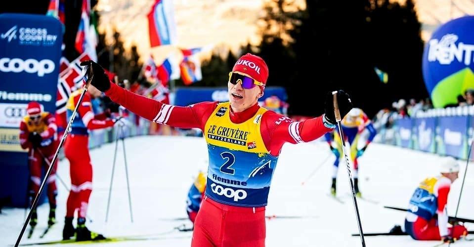 Александр Большунов победитель Кубка мира по лыжам 2020