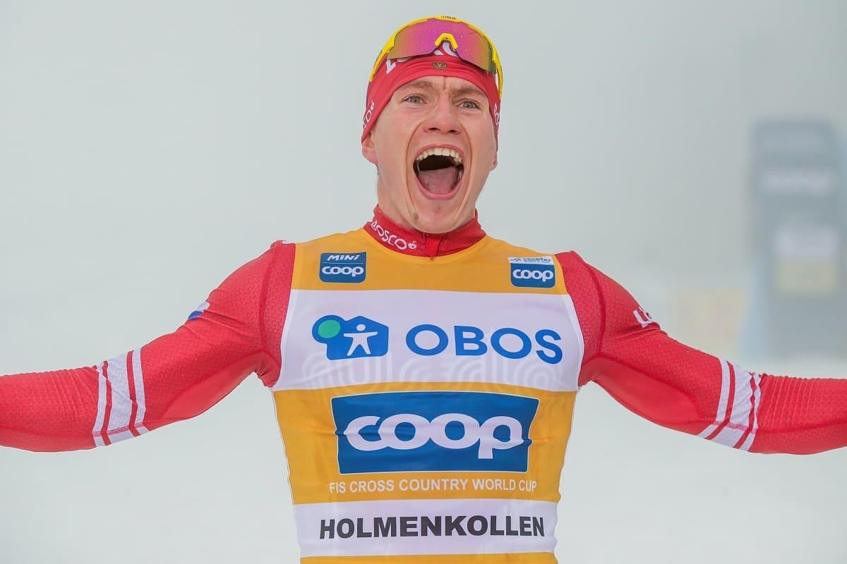 Кубок мира по лыжным гонкам в Холменколлене 2020 Большунов