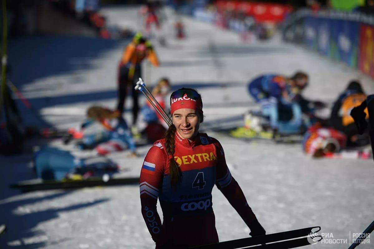 Кубок мира по лыжным гонкам в Холменколлене 2020 Непряева