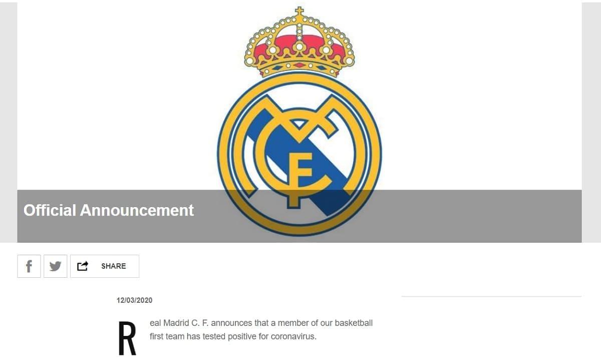 Реал Мадрид Ла Лига Коронавирус