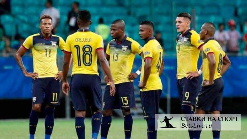 Эквадор разгромил Колумбию 6:1