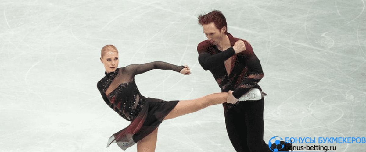 Евгения Тарасова и Владимир Морозов немного устали