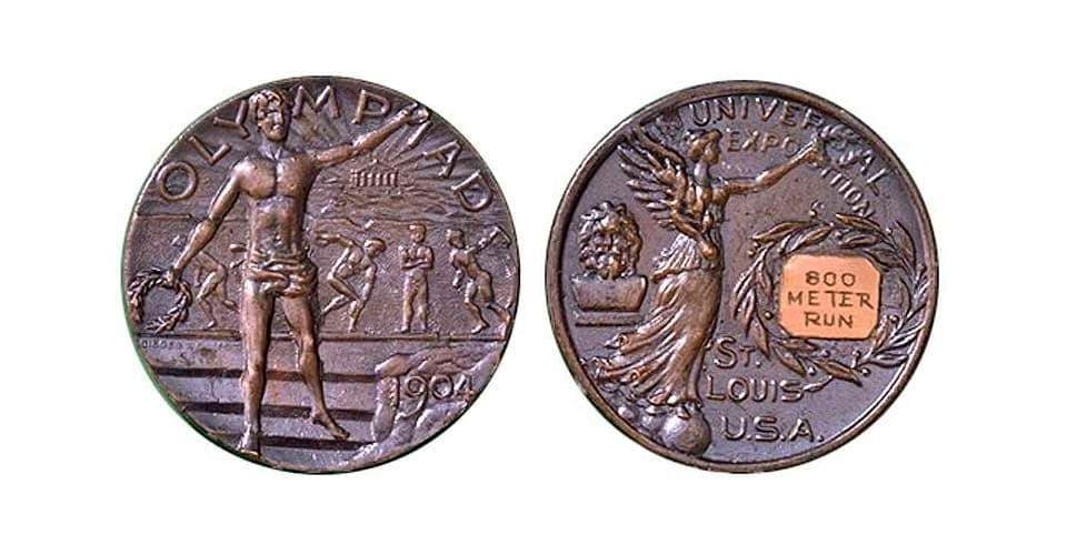Первые медали Олимпиады за третье место 1904 года