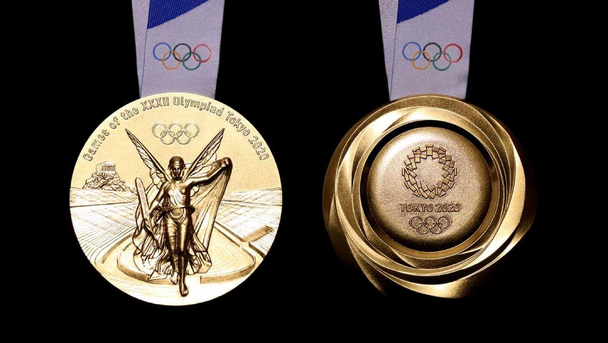 Медали Олимпиады 2020