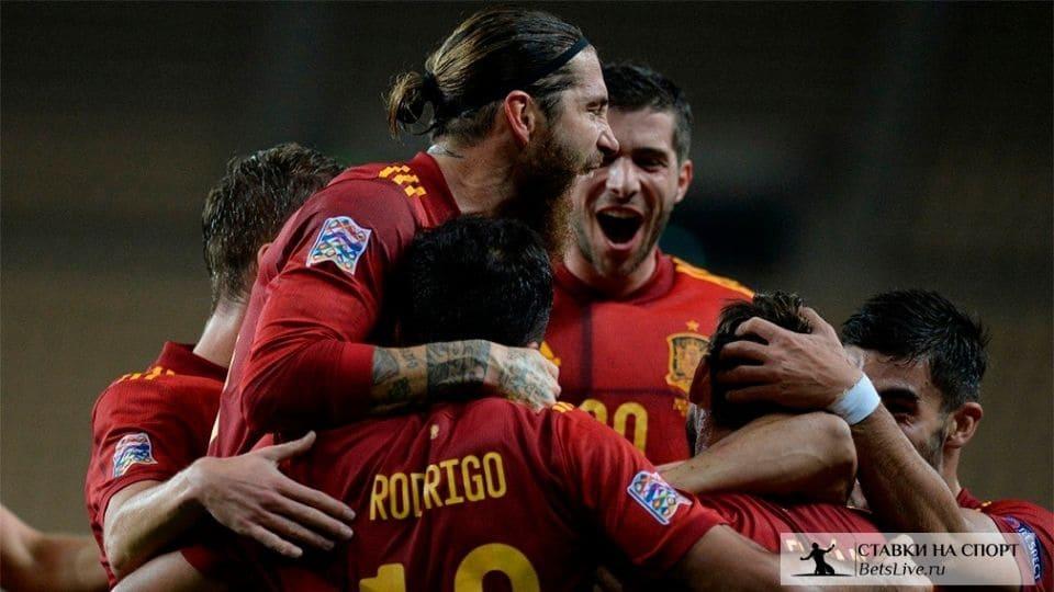 Испания разгромила Германию со счетом 6:0