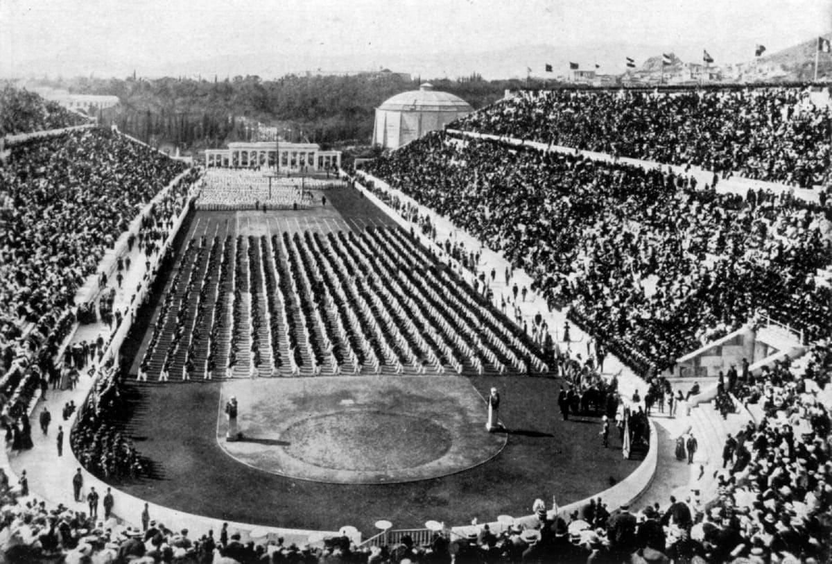 История Олимпийских игр 1896 год