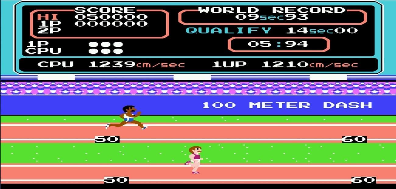 Спорт на Денди - Олимпиада