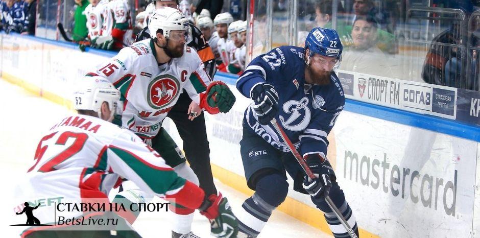 Динамо Москва — Ак Барс прогноз на 24 декабря