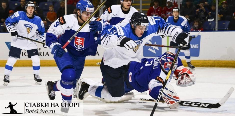 Финляндия U20 – Словакия U20 прогноз на 30 декабря