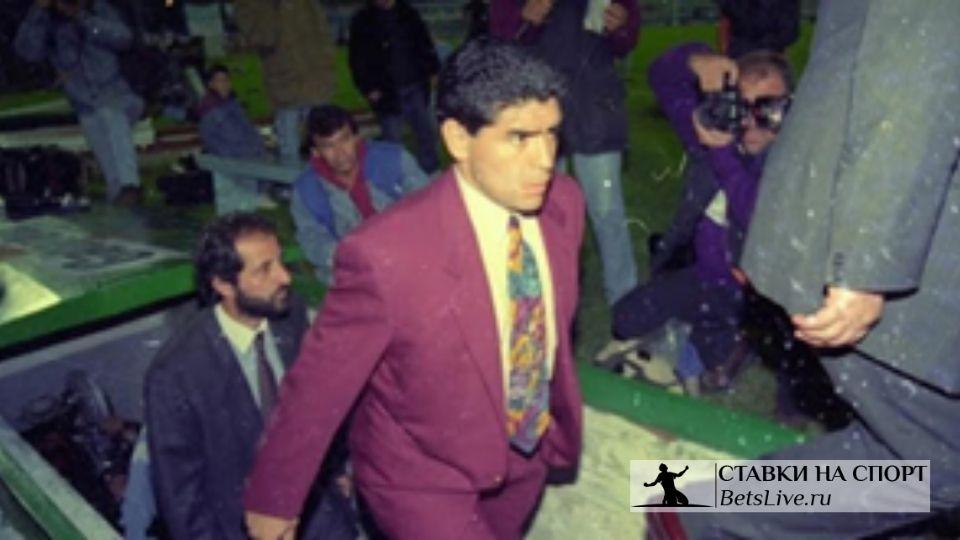 История тренерского дебюта Марадоны