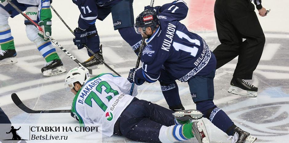 Салават Юлаев — Динамо Минск прогноз на 22 декабря