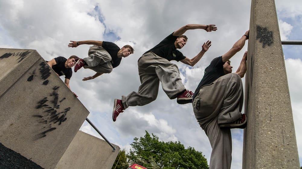 Уличные виды спорта Паркур