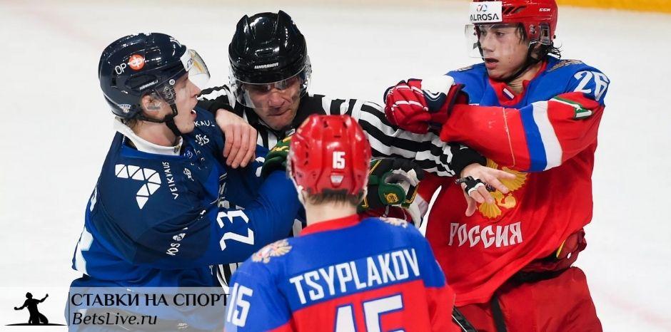 Финляндия U20 – Россия U20 прогноз на 6 января